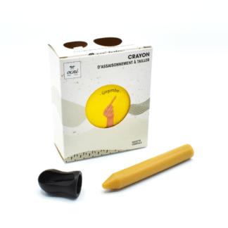Crayons d'assaisonnement à tailler gingembre