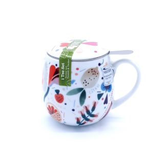 Tisanière porcelaine KONTIZ - TEA FOR YOU
