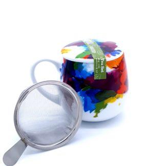 Tisanière porcelaine KONTIZ couleur