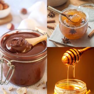 Confitures, miels, tartinables